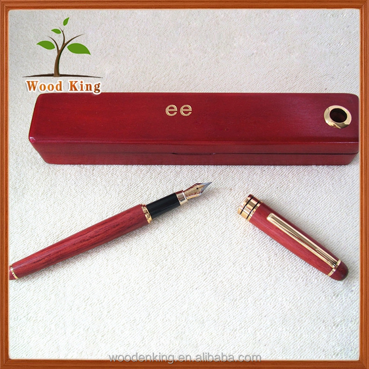 Trend 2017 Rosewood Pen Boxed Set Series Custom Wooden Pen With Logo