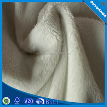 100% Polyester Soft Brushed Long High Pile Plush Fake Fur Fabric for Car Seat Cover/Home Textile