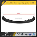 Carbon fiber front bumper lip spoiler for BMW F20 Mtech M1 35I 2012 UP