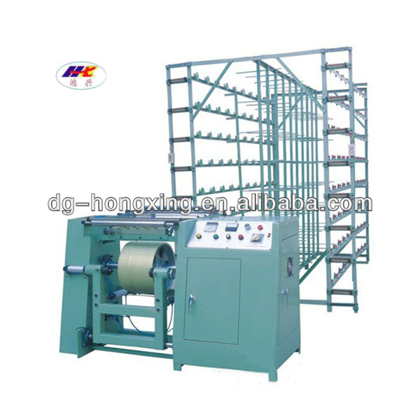 newly-made warping machine used in textile area