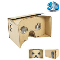 smart phone 3D google cardboard vr box 3d glasses for blue film video open sex video support gamepad
