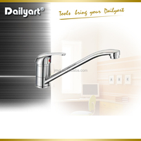 Single handle brass sink mixer upc kitchen faucet