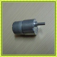 low noise diameter 37mm gearbox 6mm dia shaft reversible metal gears dc motor 24v 120rpm