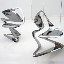 hot sale stainless steel art chair for office decoration