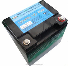 12v 50ah li-ion battery with deep cycle