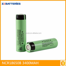 Wholesale NCR 18650B 3.7V 3400mAh li-ion Battery 18650 Battery for laptop
