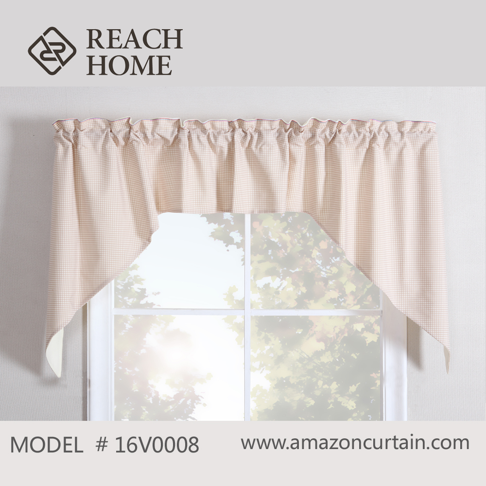 African lace curtain fabrics white valance for house curtain