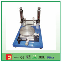 Cheap price pneumatic manual cylinder screen printing machine