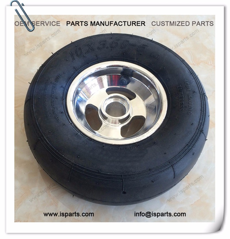 Tyre 10*3.6-5 Go kart tires and rim hard Karting tyres price