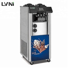 LVNI big capacity bravo carpigiani italian taylor air pump commercial soft ice cream maker making machine for sale made in china