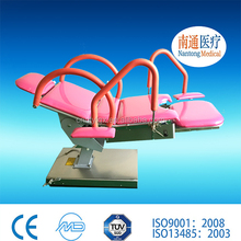Nantong Medical electric delivery bed/ gynecological examination bed chair table operating table with battery