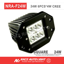 High quality 24W OFF-ROAD LED WORK LIGHT, 2 inch led driving lights for truck,auto parts