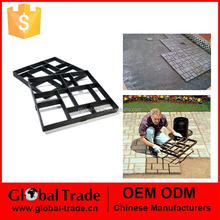 250003 New Paving Concrete Mould Driveway Paving Brick Patio Walk Maker Pathmate Large 60x50cm