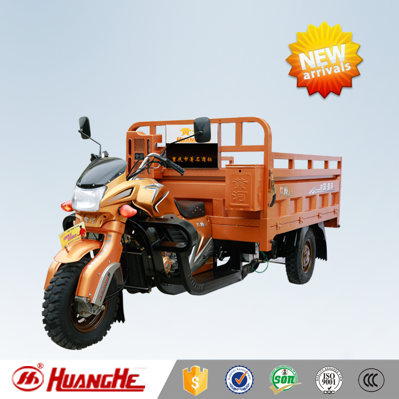 Most Popular Powerful Gasoline Engine 200cc 250CC Water Cool air cool heavy load chinese three wheel motorcycle