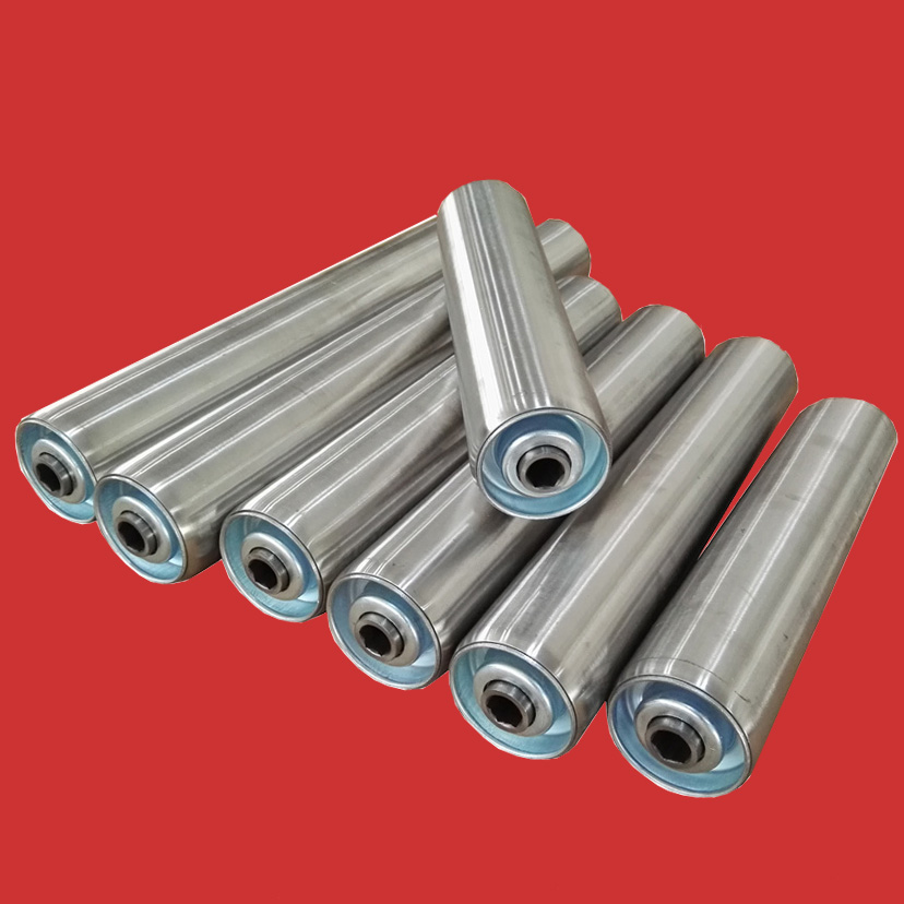 Stainless steel conveyor <strong>roller</strong> with hex shaft