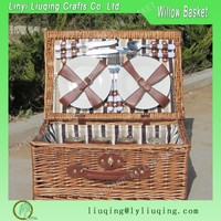 2016 best seller wicker picnic basket for two person