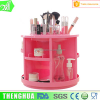 Household plastic acrylic makeup organizer foundation makeup container