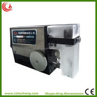 electric wire cable copper flat wire bending machine stripping machine