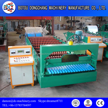DC aluminium roofing sheet making machine