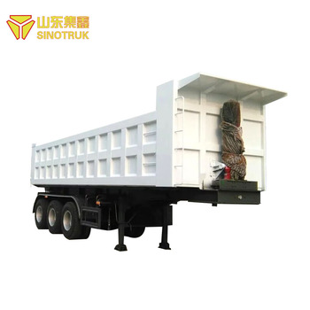 Standard cheap new product howo sinotruk new tipper semi trailer price