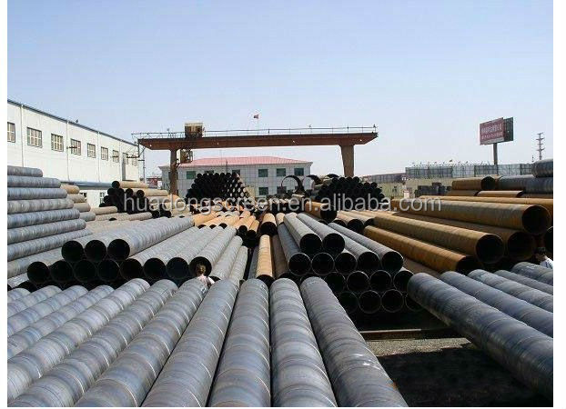 Supplying API-Grade Line Pipe/Oil Transmission Lines/Spiral-Weld Steel Pipe
