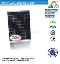 Hot sale high effective 70w poly solar panel manufacturers in China