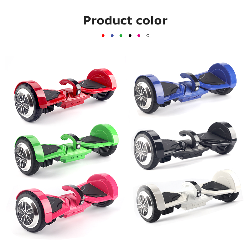 Chrome color Christmas Gift stock in USA Europe and Australia warehouse Taotao and Samsung battery hoverboard 2 wheel scooter