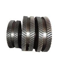 Speed reducer forge steel hypoid bevel gears