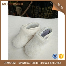 high quality glass slipper keep food warm insulated food container jersey knit fabric new born baby shoes for indoor use