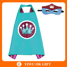 Wholesale Kids Superhero Crown Cape Kids Superhero Costume for Carnival Party Dress Up