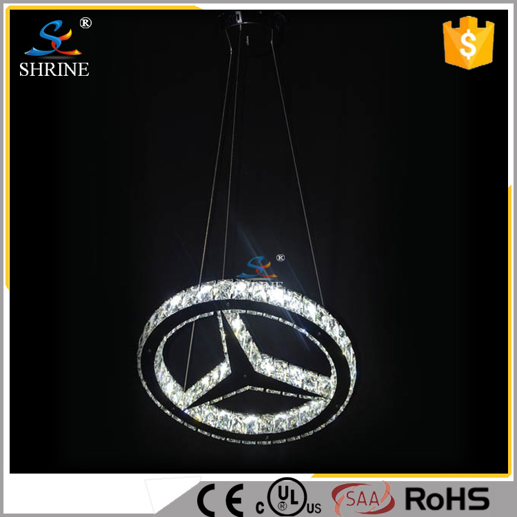 Special Ring Stars Shape Hanging Pendant Light