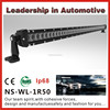 Best price single row 50 inch 250w led offroad light bar for trucks with Emark, CE, Rohs approved