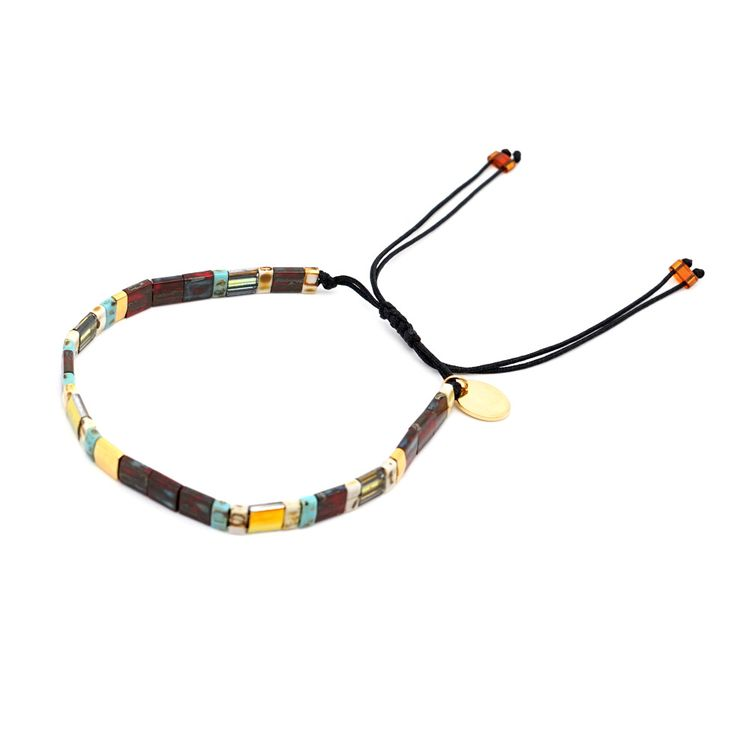 New Trend Bohemian Accessories Women  Hand-woven Square Beads Summer Beach Tila Miyuki Friendship Bracelets Jewelry