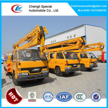 JMC platform lft truck bucket truck 8-16M high altitude operation truck