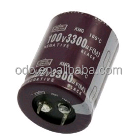 Aluminum Electrolytic capacitor 100V 3300UF 30X40mm 105Celsius Radial
