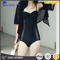 Women Sexy Lace Swimwear One Piece Swimsuit Backless Design