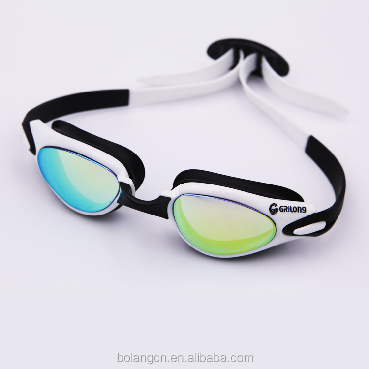 Yiwu factory supplies Fashionable hot sell water sport swim goggles waterproof swimming goggles anti fog