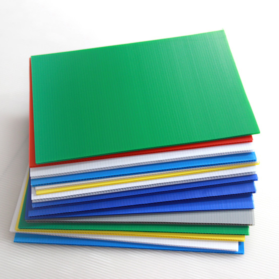 Lightweight green pc hollow sheet
