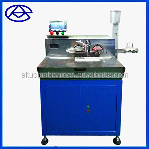 Automatic wire tinning machine / wire cutting stripping twisting tinning machine / cable manufacturing making equipment AM111