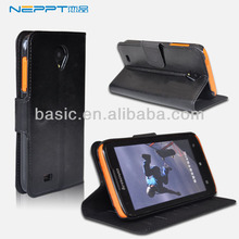 Neppt Newest designed hot selling leather mobile phone case for lenovo s750