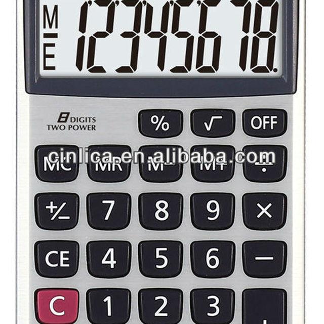 office handheld calculator SL-500P cell phone calculator