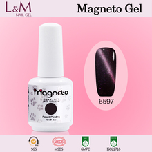 GelArtist Magneto Gel Nail Polish Magnetic UV Cat Eyes Gel Nail Polish