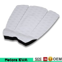 Melors anti-slip surface eva foam material traction pad with 3m custom eva deck pad surf grip traction pad