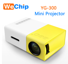 YG300 Built-in Battery Portable Mini Pocket Projector HD 1080P Mini Projector YG300 with TV Tuner Outdoor Home Cinema