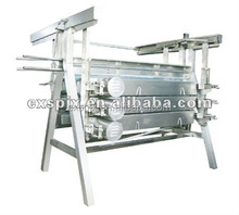 High Quality Halal A Shape Chicken Plucker,dehairing Machine For Poultry Goose Duck Bird Chicken Slaughter Plant