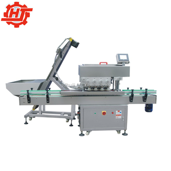 High Speed Automatic Plastic Cap Capping Machine Bottle Screw Capper Packing Line