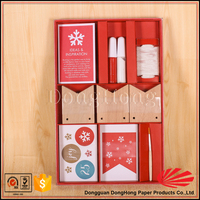 Wholesale gift set packaging paper box for kids