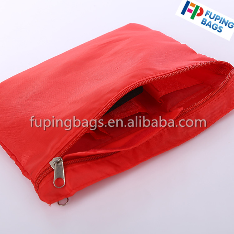 Polyester/nylon 420D make up bag light cosmetic bag with zipper for travelling