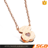 Special fashion jewelry 8 gram gold necklace designs
