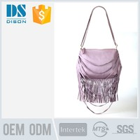 wholesale top quality fashion girls sling bag with pu long chain